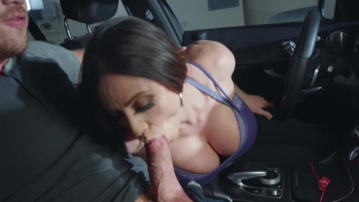 Blowjob in garage drama character naked